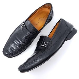 Mezlan Lizzard Loafers Slip On Dress Shoes
